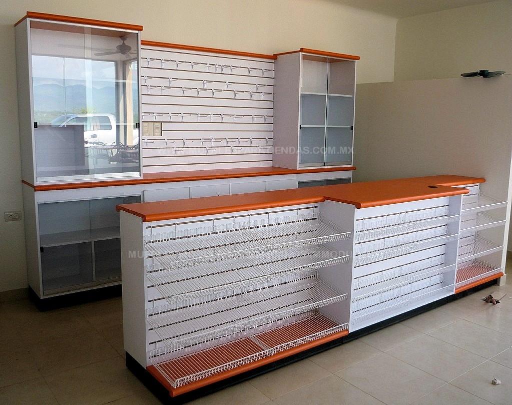 Muebles Para Farmacia De Melamina : Muebles de tiendas mobiliario oficina
