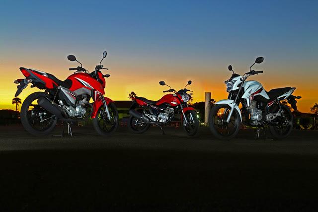 Nova Honda CG 160 2016 - Preços