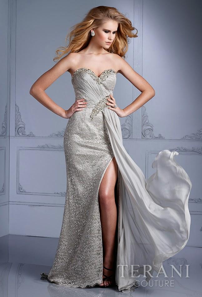 Fenomenales vestidos de noche elegantes   Tendencias