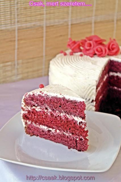 Red Velvet receptek