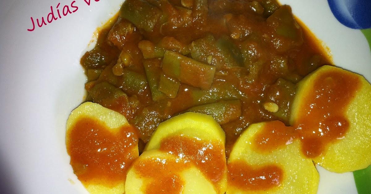 Cocinar con mycook jud as verdes con tomate y patatas for Cocinar judias verdes