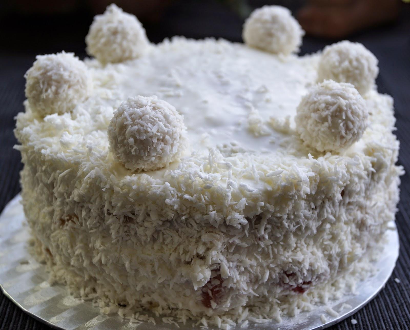 Baiserhaubchen Sommerliche Kokostorte Oder Raffaello Torte