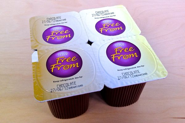 Tesco Free From vegan chocolate desserts review