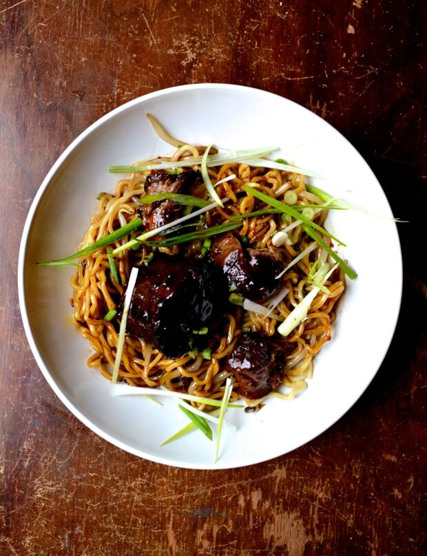 Braised Oxtail Noodles 8 | Chinese Recipes