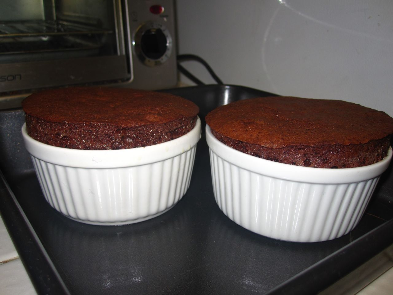 Goddess of Baking: Nutella Chocolate Souffles