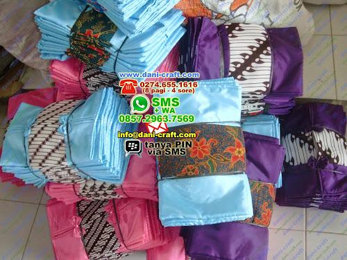 Souvenir Tempat Tissue Batik