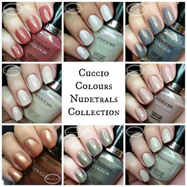 swatcher, polish-ranger | Cuccio Colour Nudetrals collection collage