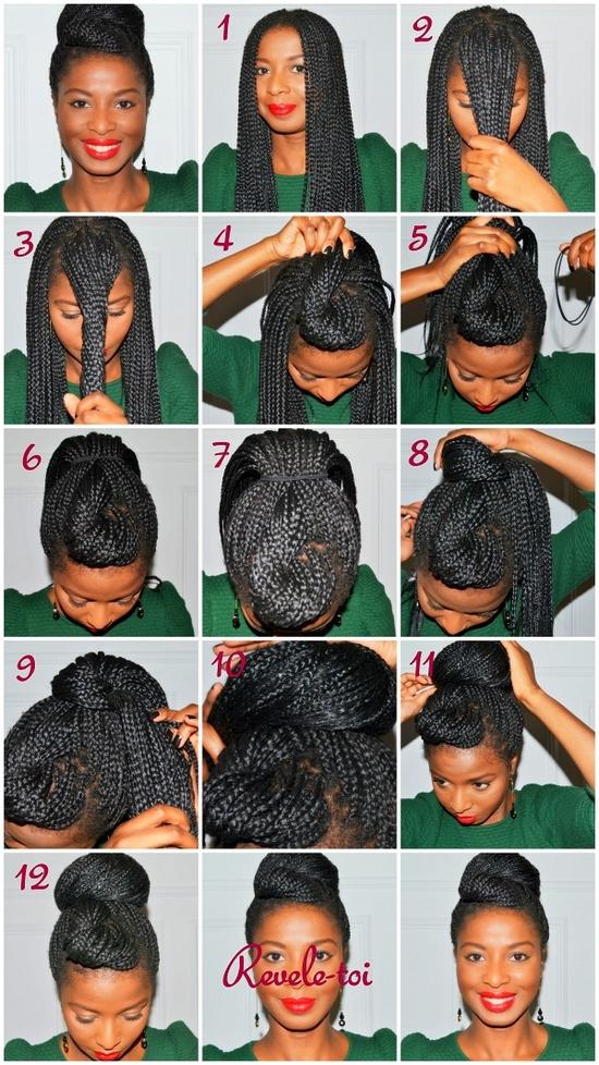 my fair hair: How to create a professional bun