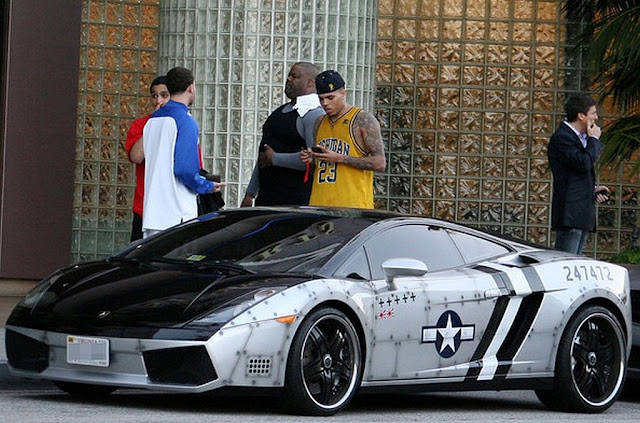 Chris Brown Parking Ticket