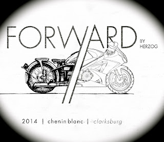 Forward Chenin Blanc label
