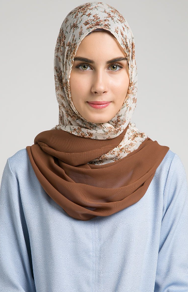 Contoh Model Hijab Modern Terbaru 2015