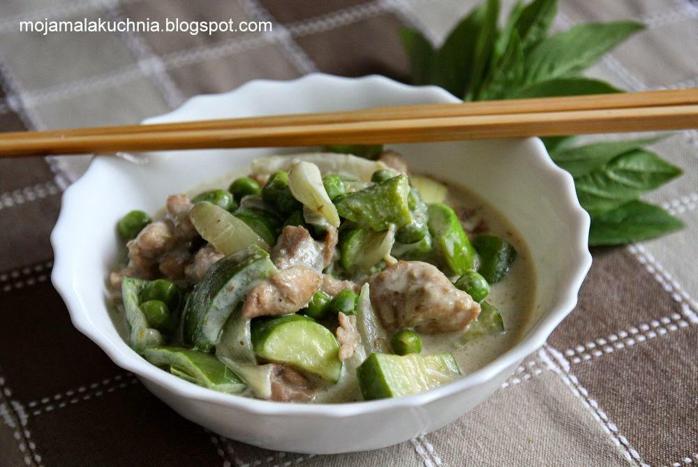 Moja Mala Kuchnia Tajskie Zielone Curry
