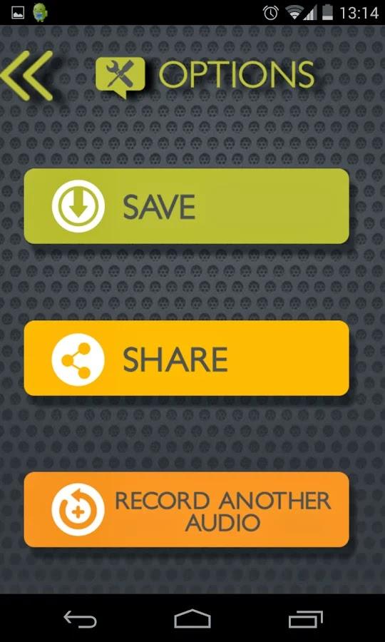Android Ses değiştirici Apk resimi