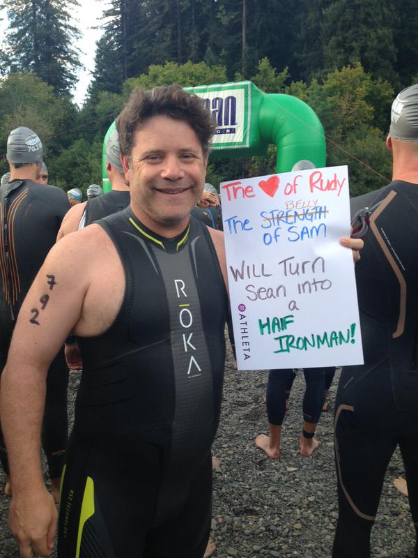 TEAM #Run3rd: Sean Astin: Training for the Ironman World ...