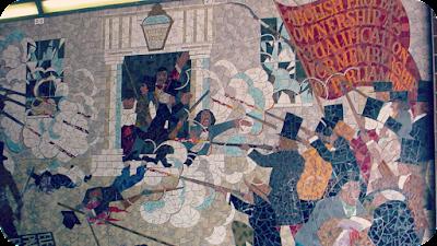 Newport Chartist Mural