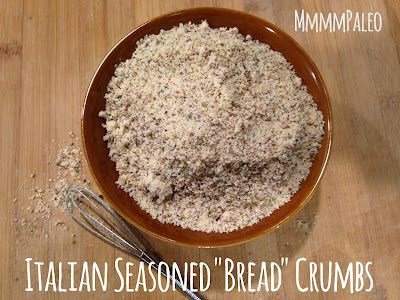 "☺♥☺ Paleo Bread Crumbs Recipes: How to make paleo bread crumbs with coconut flour and almond flour and Italian Seasoned ""Bread"" Crumbs  with almond flour☺♥☺ Paleo Bread Crumb Recipes Itailian Seasoned ""Bread"" Crumbs"
