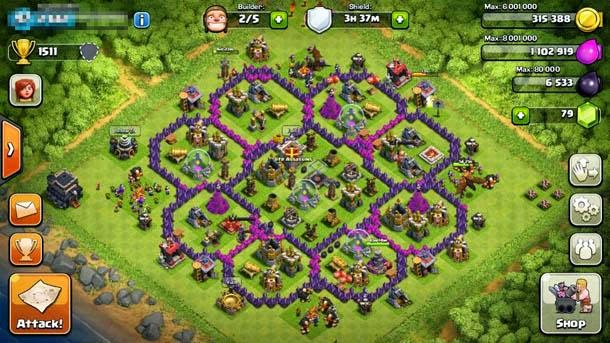 town hall level 7 clash of clans