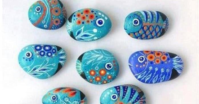 Creatividas e ideas para todo como pintar piedras for Pintura para pintar piedras
