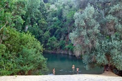 Rio Genal - zwemmen