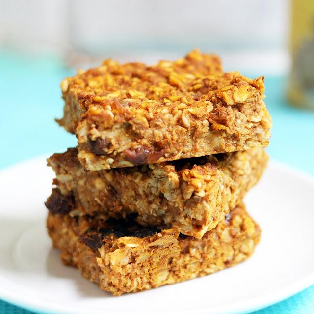 pumpkin-raisin-breakfast-bars