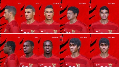 PES 2014 Indonesia NT Facepack by A.Mussoullini