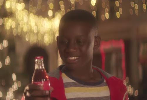 Coca-Cola sugere que nós agradeçamos mais