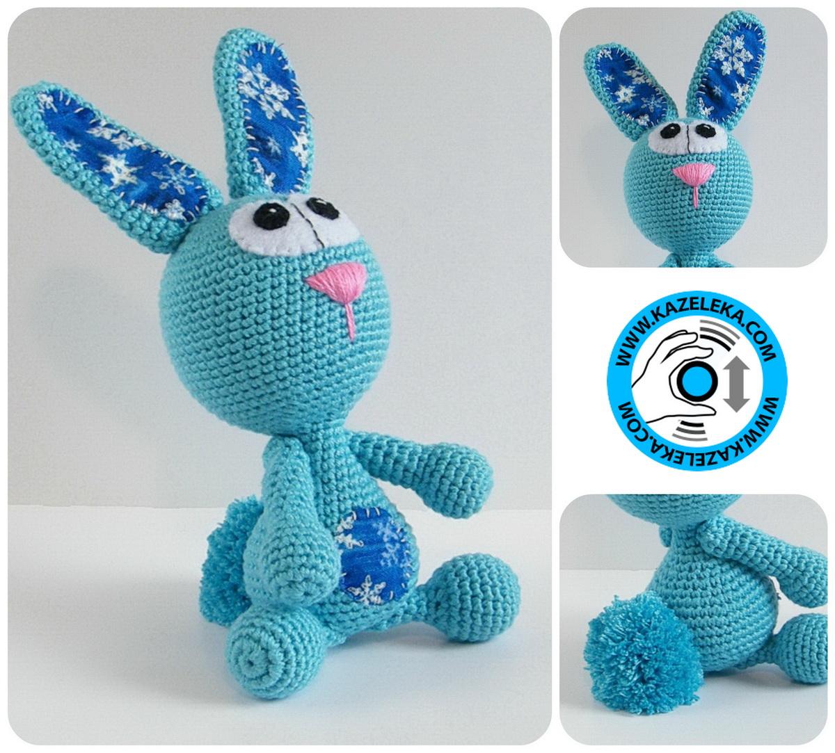 crochet rabbit - вязаный заяц