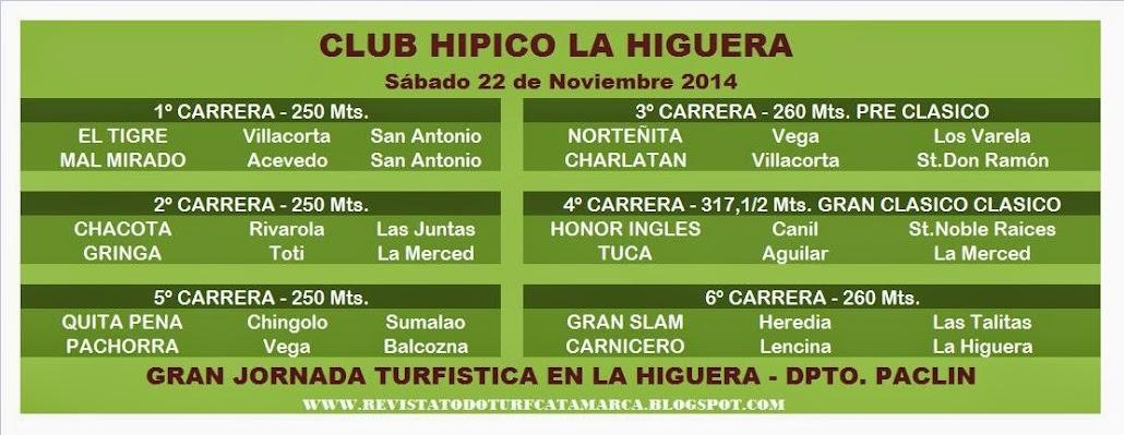 PROG LA HIGUERA 22/11/2014