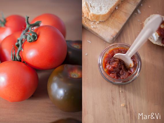 mermelada casera de tomate paso a paso