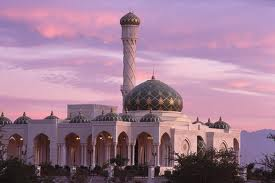 Muslim mosque in Oman