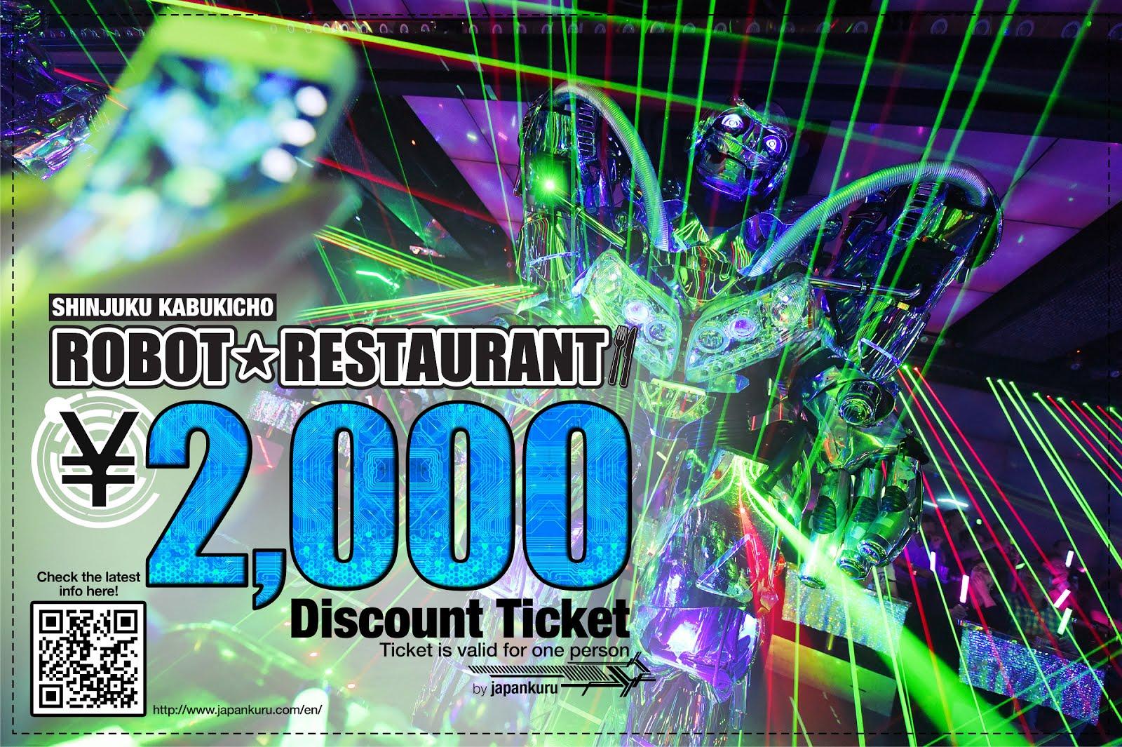 Robot restaurant discount
