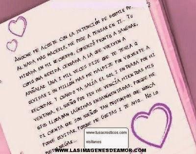 Cartas de amor; Dedica una carta de amor