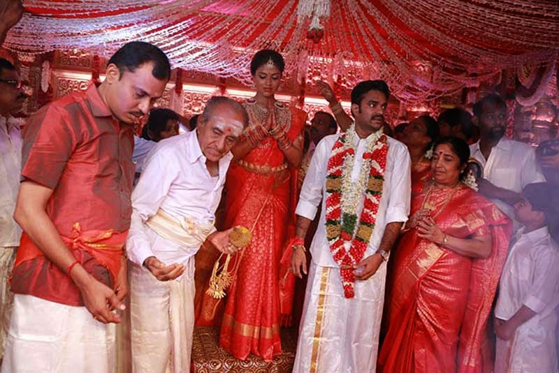 Amala Paul Wedding Saree
