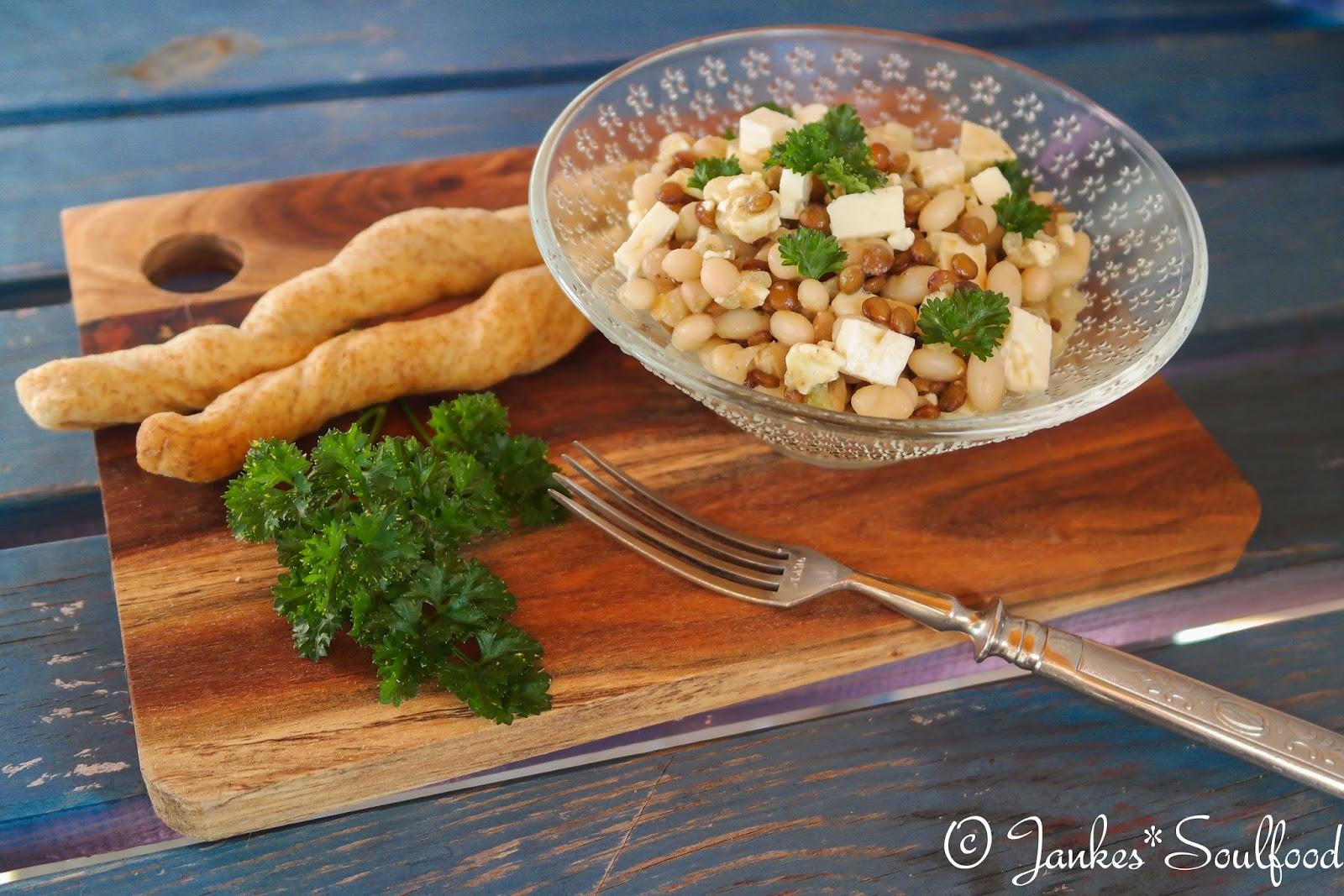 Bohnen-Linsen-Salat