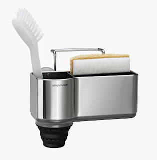 Brushed Stainless Sink Caddy