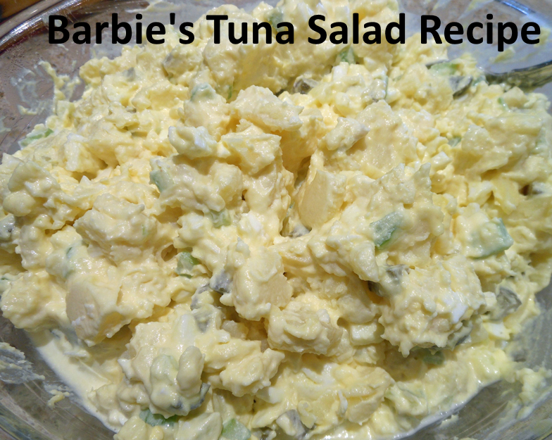 top yummies: Barbie's Tuna Salad Recipe