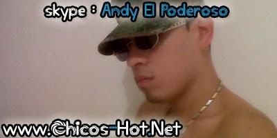 Chicos Hot de Skype : Andy El Poderoso