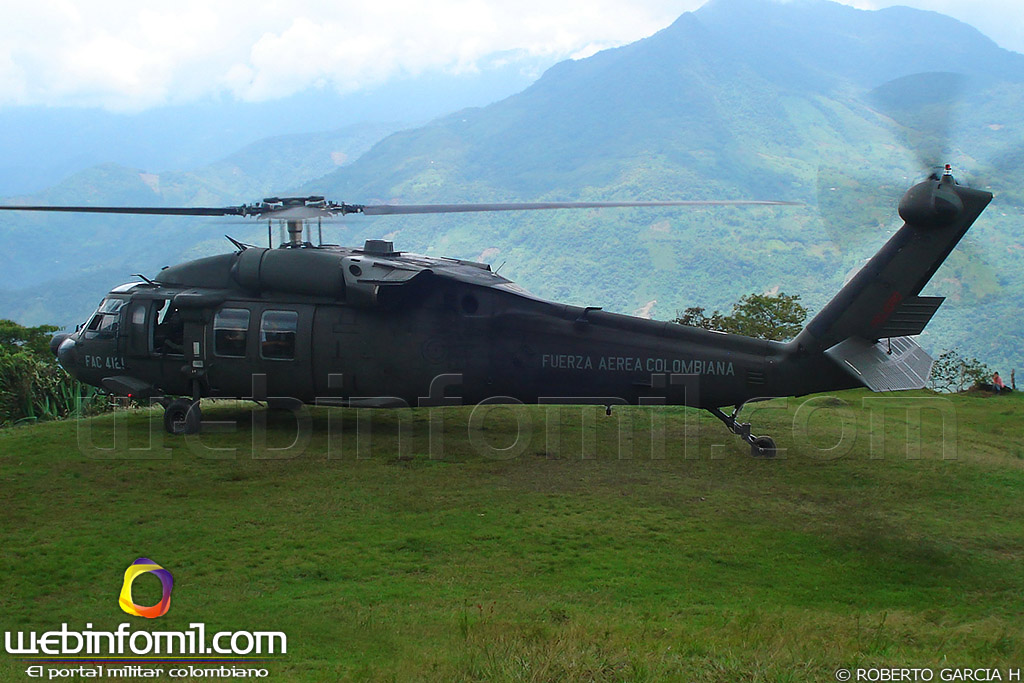 Armée Colombienne / Military Forces of Colombia / Fuerzas Militares de Colombia - Page 11 Helicoptero%2BBlack%2BHawk%2BFuerza%2BAerea%2BColombiana%2BAir%2BForce
