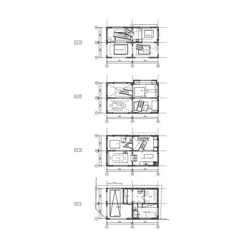 House H floor plans