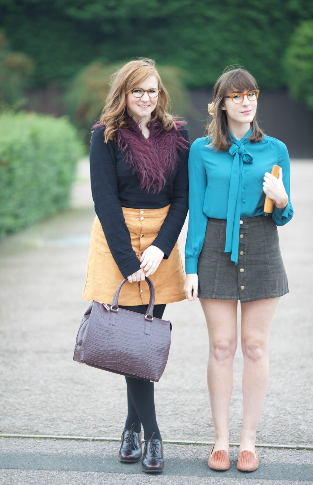 button up skirts aw15 70s fashion
