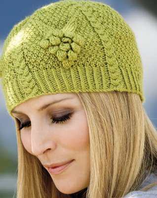 free knitting pattern: ladies knitted hat patterns