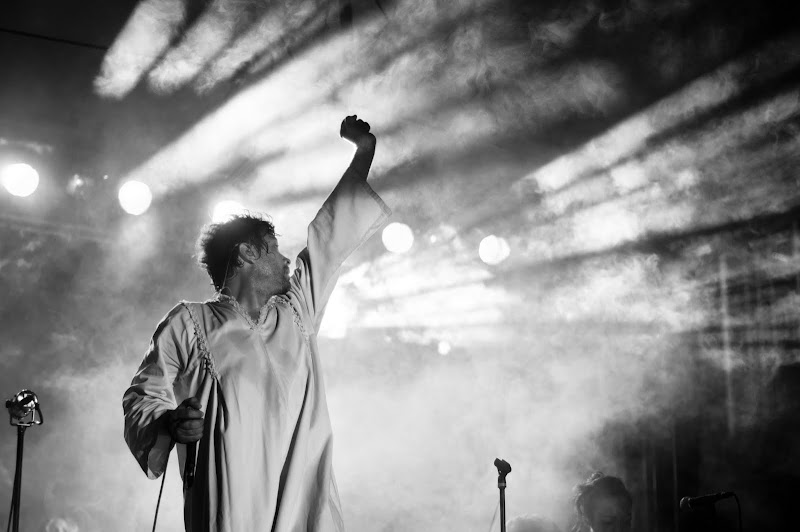 Photo of Tim DeLaughter of The Polyphonic Spree