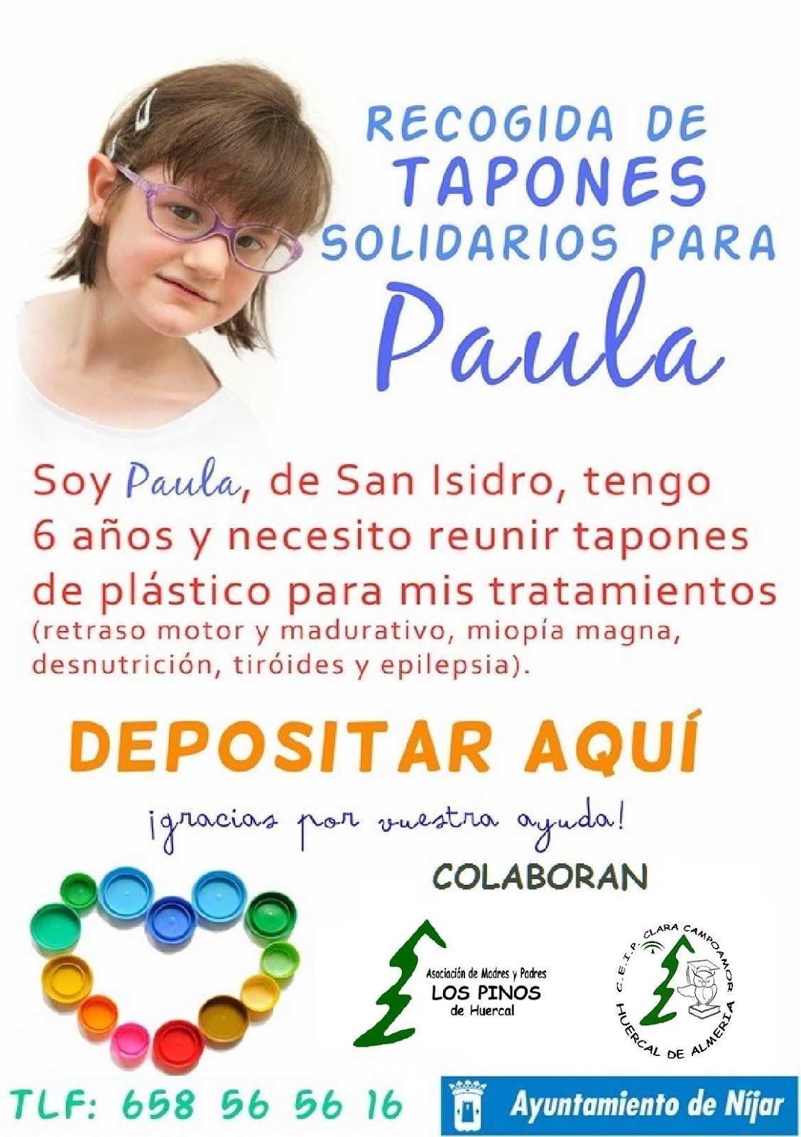 Tapones para Paula