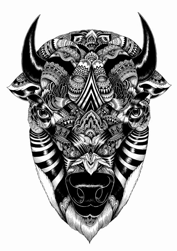01-Iain-Macarthur-Precision-in-Surreal-Wildlife-Animals-Drawings-www-designstack-co