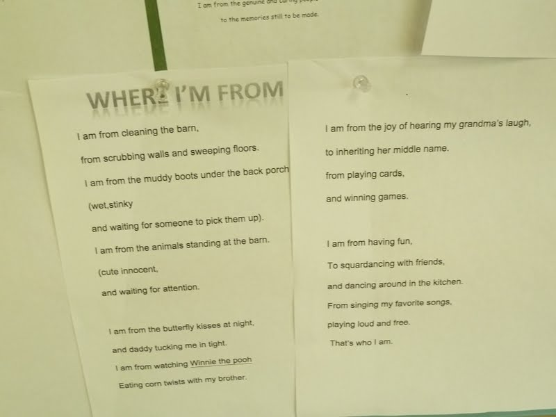 B Meandering Where Im From Poetry Mondays Prayer