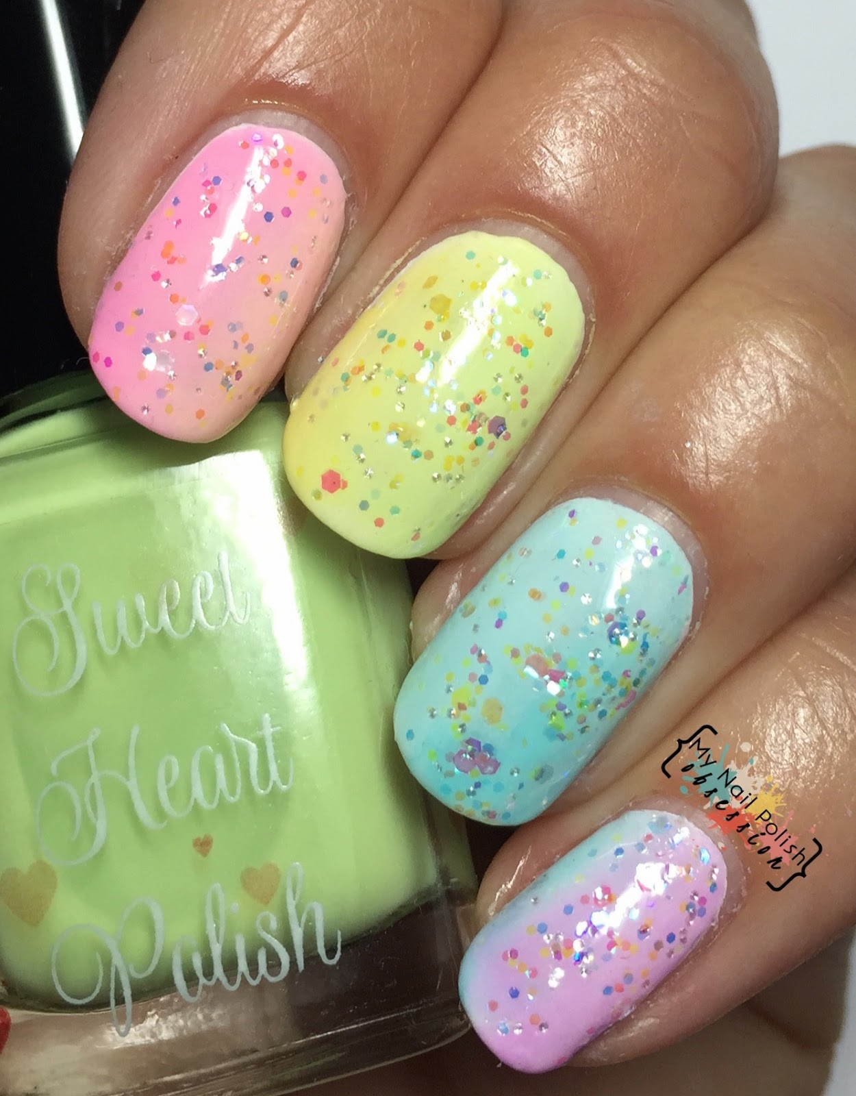 Sweet Heart Polish Sweet Bites Collection