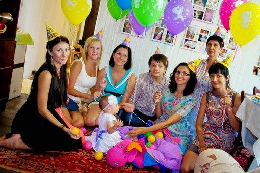 оформление детских праздников