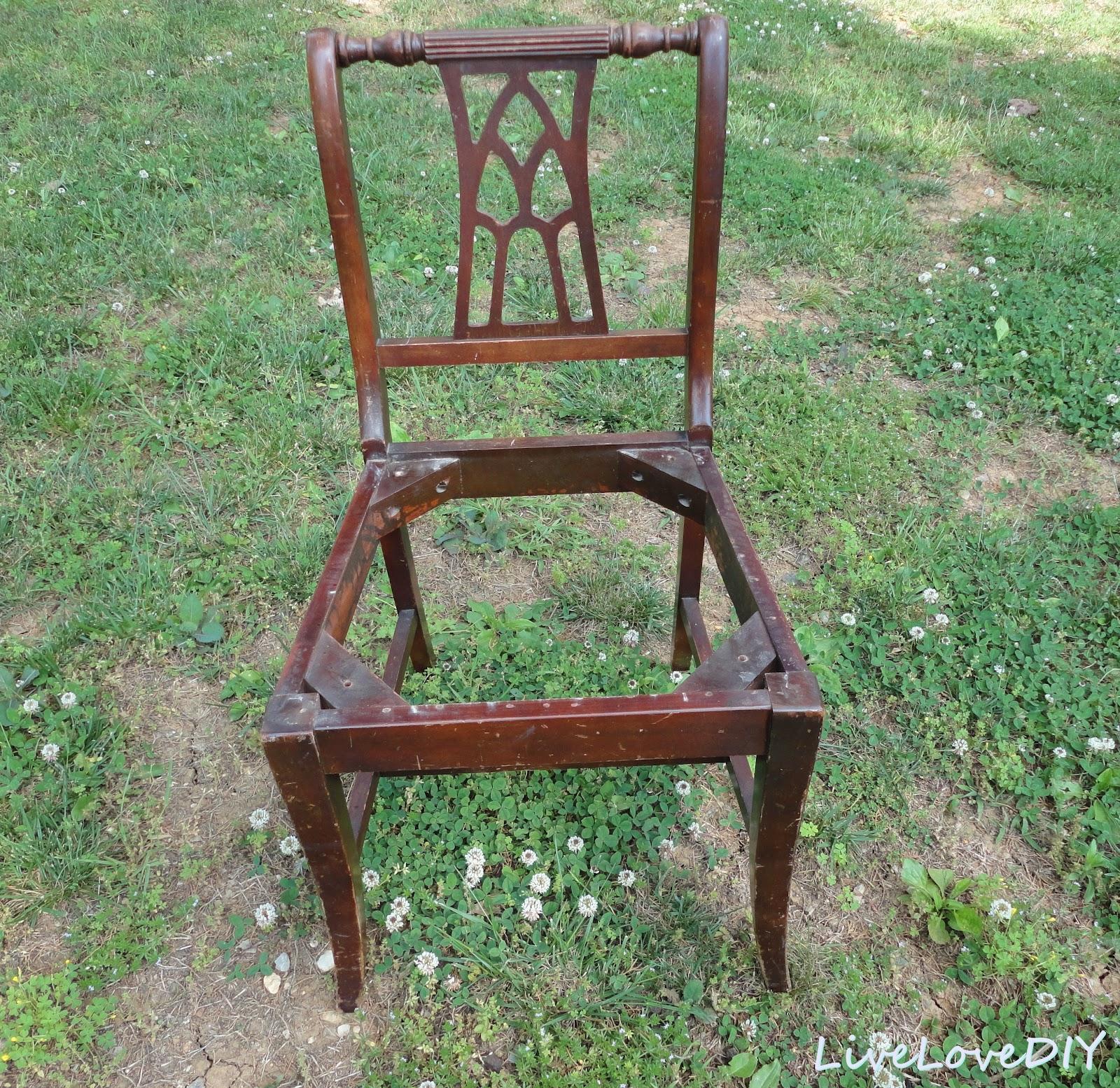 Как обновить старые деревянные стулья своими руками фото