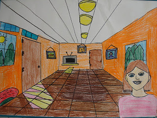 Color For Everyone One Point Perspective Interiors