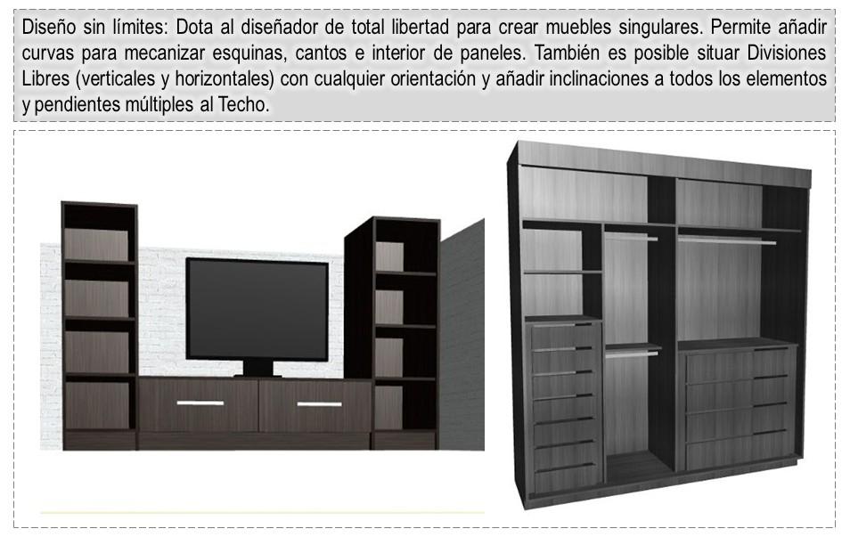 Dise o de muebles madera programa para dise ar y crear for Muebles de cocina planos pdf